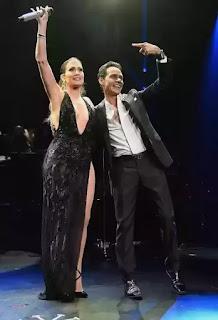 Jennifer Lopez reunites with Mark Anthony