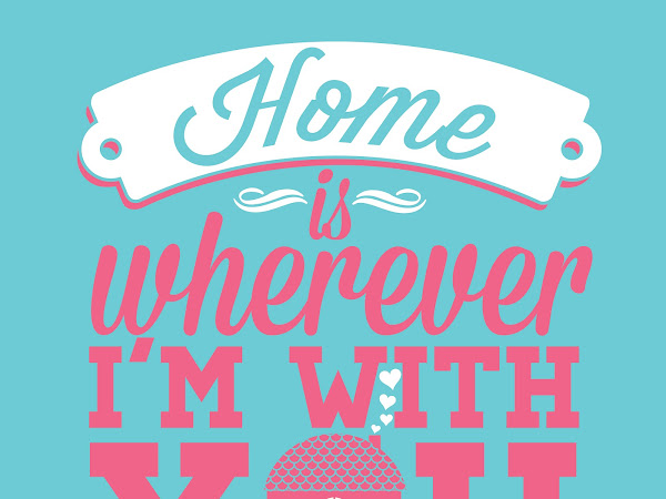 Home is Wherever I'm With You - Free Printable