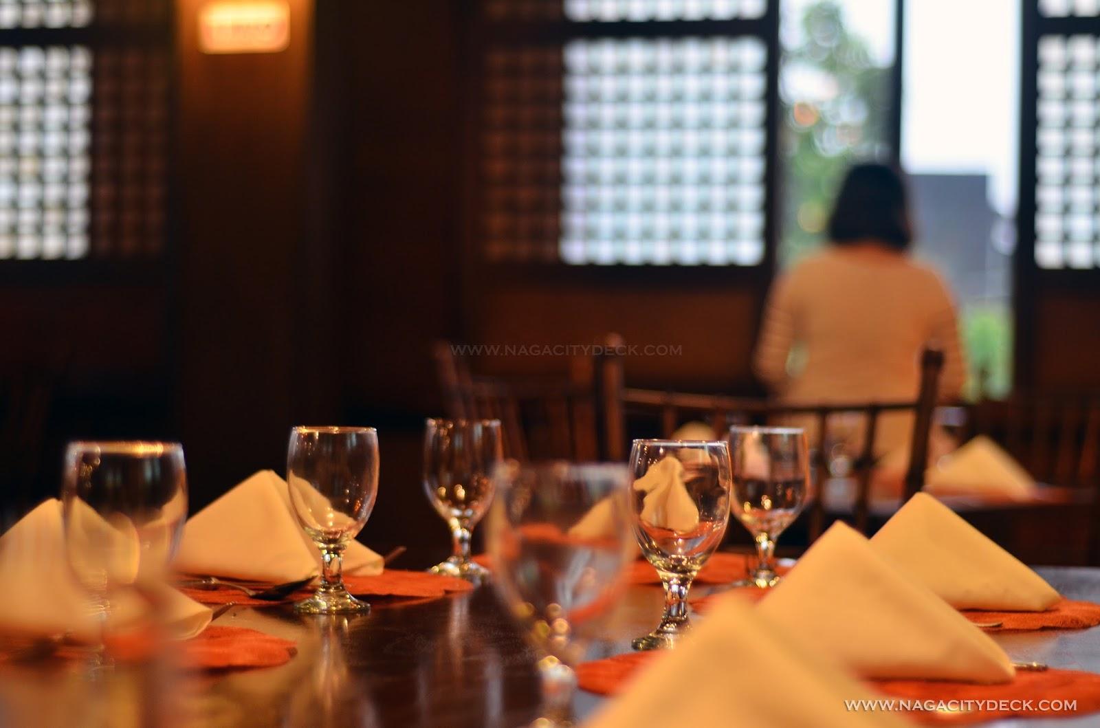 Where to eat in Albay: Balay Cena Una ~ Naga City Deck