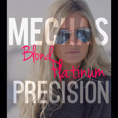 Mechas blond platinum precision