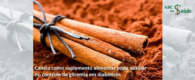 Canela como suplemento auxilia glicemia em diabéticos  (Imagem: Reprodução/Internet)