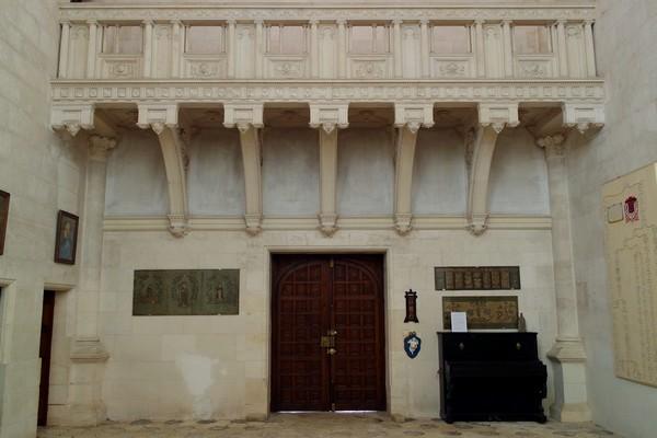 charente château la rochefoucauld chapelle