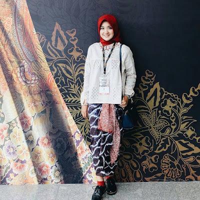 batik wanita muslimah