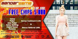 Situs Judi Domino Online Dengan Free Chips