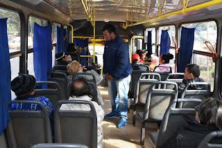 Durante un control aleatorio realizado por la división de transporte público de la Municipalidad de Ciudad del Este, se pudo comprobar que todas las empresas cobran G. 2.500 por el pasaje, refiere un informe divulgado por la institución.