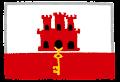 ジブラルタルの国旗