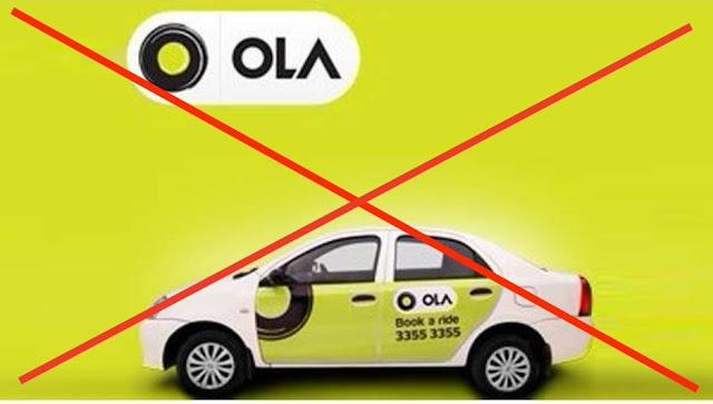 OLA Cabs Ubber Muslim driver boycott