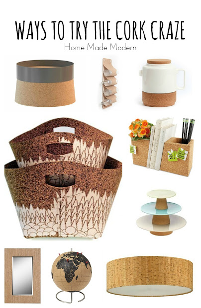 cork home accessories