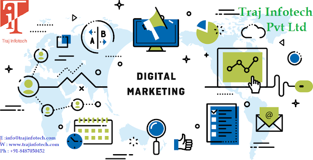 Digital Marketing -Traj Infotech
