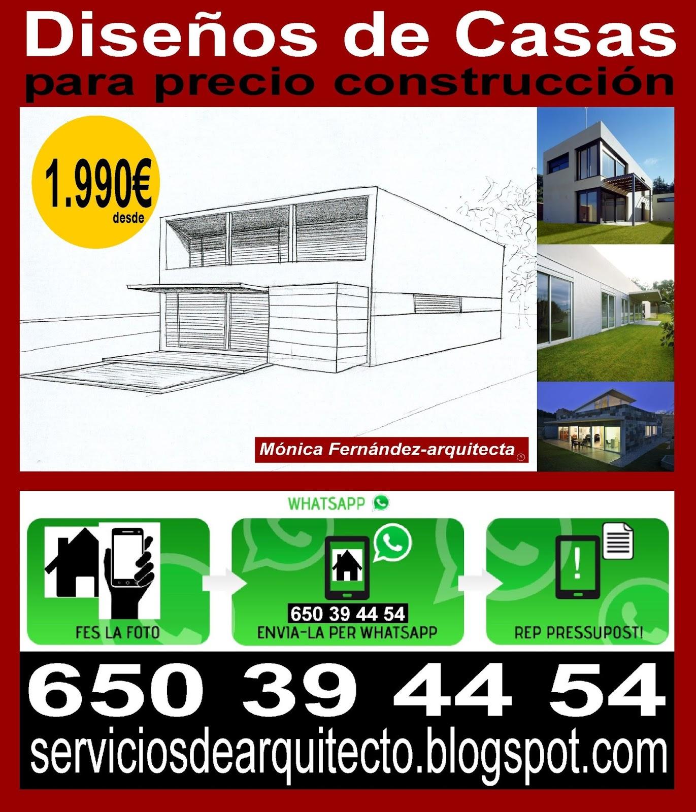 M nica fern ndez arquitecto habitatgessingulars for Diseno de construccion de casas