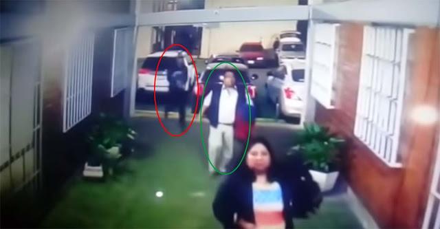 VIDEO: Momento en que un agente del ministerio publico es ejecutado y rematado, el sicario espero una hora a que llegara para asesinarlo