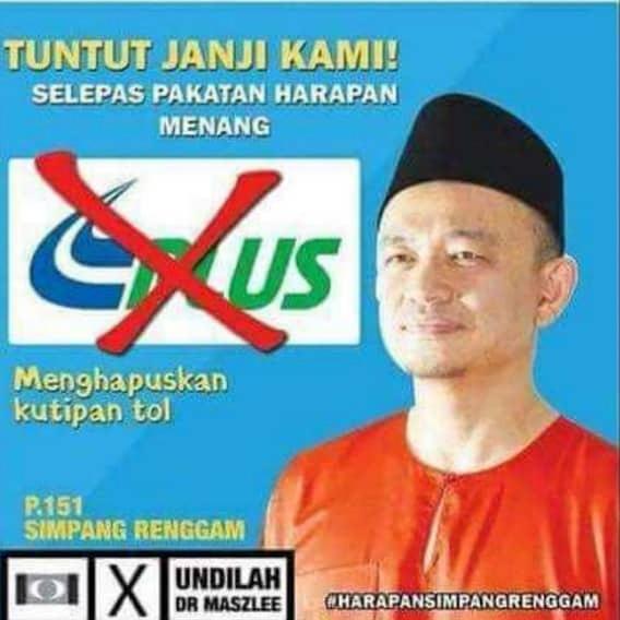 #PergiMampos Tiba-Tiba PH Ajak Melayu Sokong Maszlee Atas Nama Penyatuan Ummah