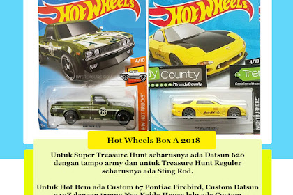 Bocoran Hot Wheels Box A 2018 (JDM Attack Begins)