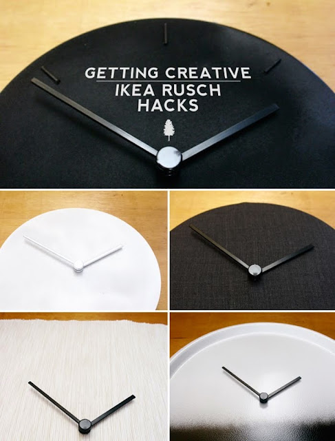 A Creative Exercise Using Rusch Clocks Ikea Hackers