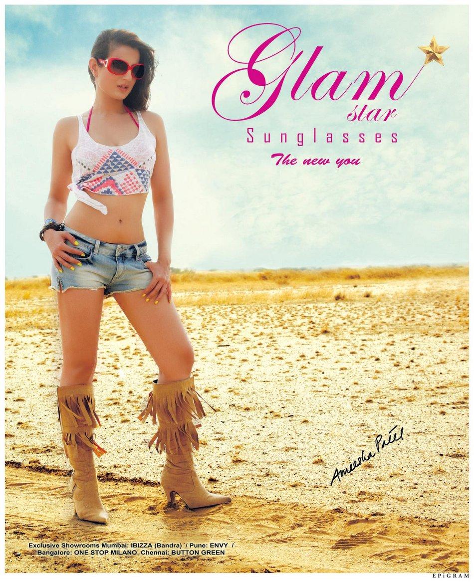 Ameesha Patel Hot Photoshoot for GLAM