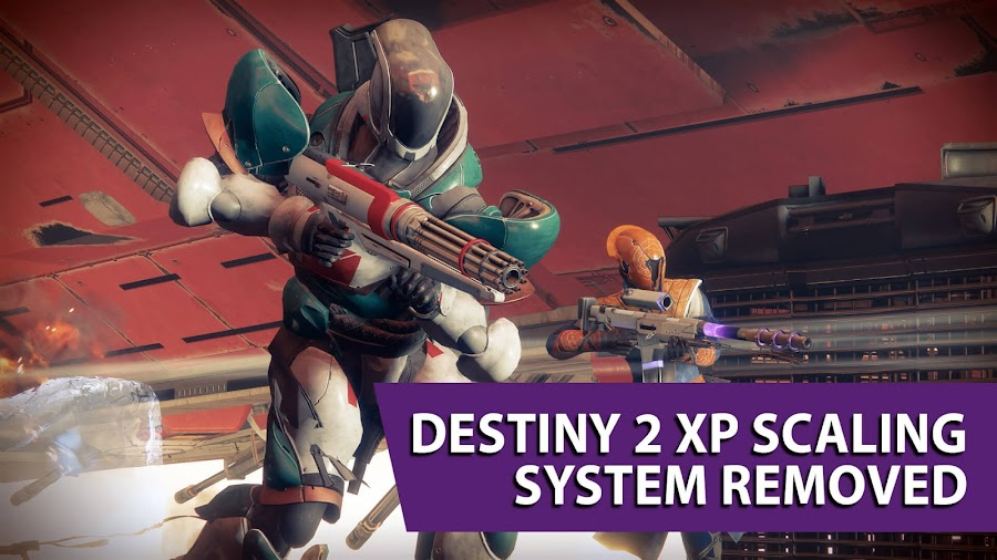 destiny 2 xp scaling system