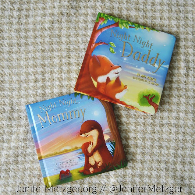 Review of Night Night, Mommy and Night Night, Daddy. #childrensbook #parenting #bedtime #tommymommy