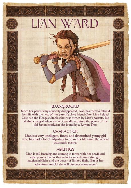 Lian Webcomic - Lian Ward Character Profile