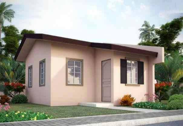 25 tiny beautiful house very small house for Bungalow houses designs philippines images