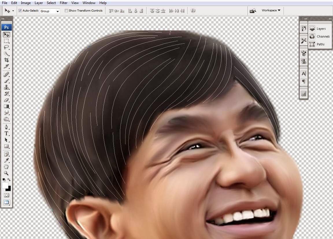 Cara Membuat Karikatur Dengan Photoshop CS6 Samuel Blogs