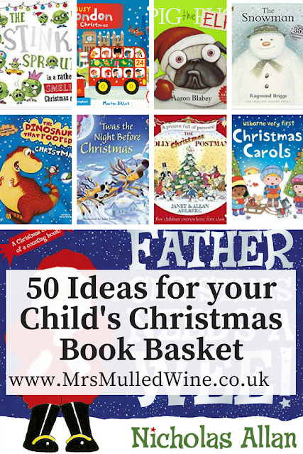 50 Ideas for your Child's Christmas Book Basket