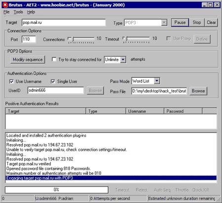 Brutus password cracker – download brutus-aet2. Zip aet2 darknet.
