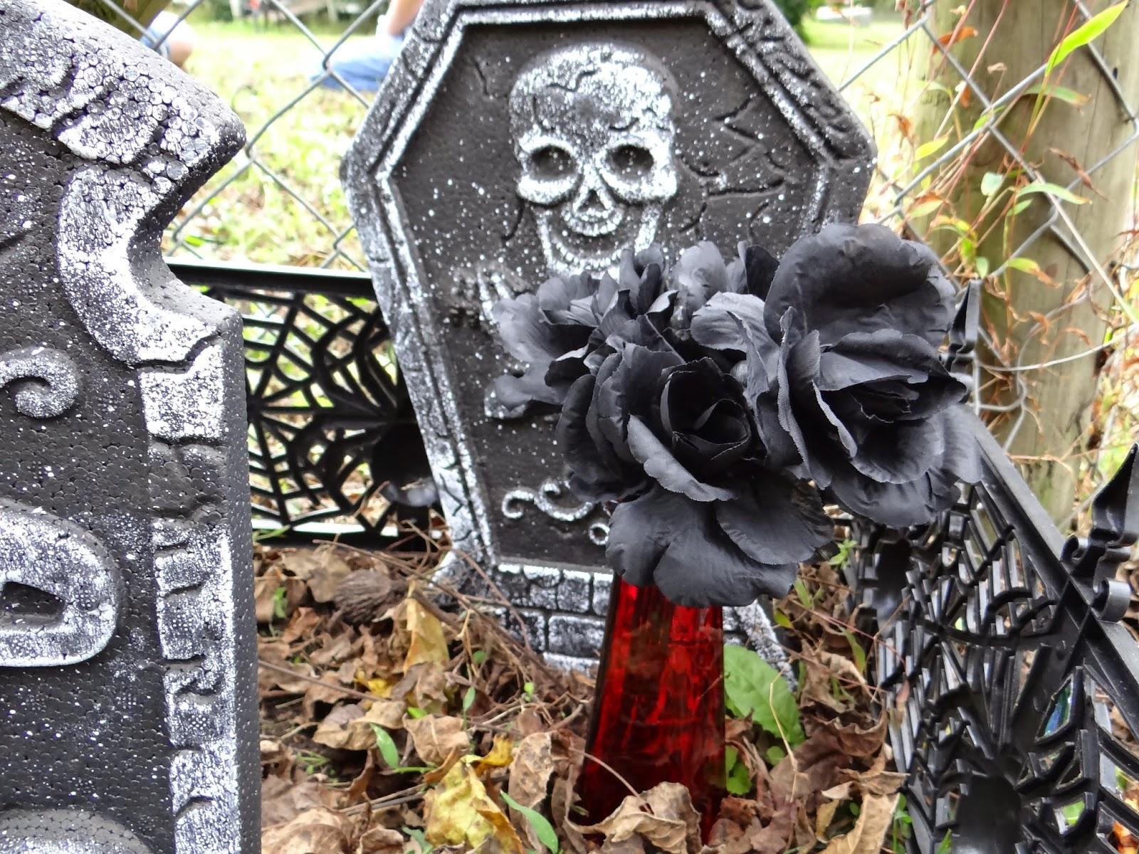 Dollar Tree Crafts Halloween Dark Garden Tutorial Diy Rural Mom