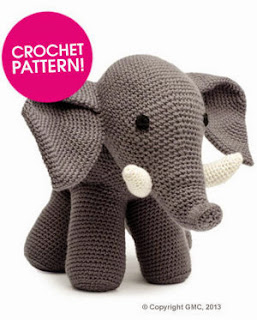 Free Crochet Patterns To Download : 2000 Free Amigurumi Patterns: Free Elephant Crochet pattern