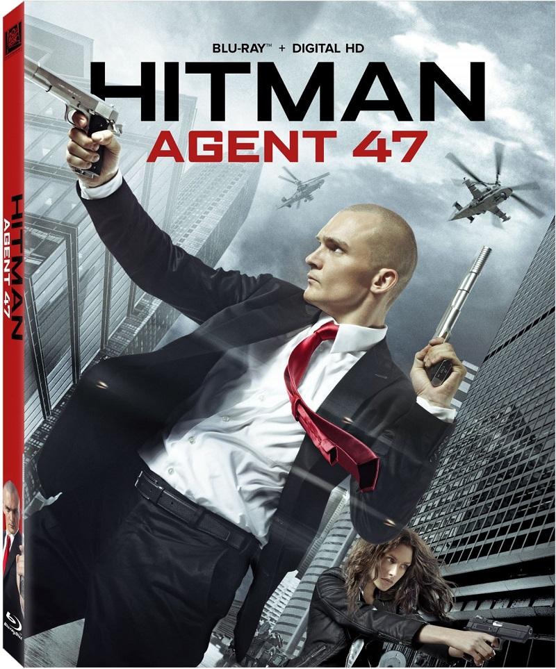 Hitman Agente 47 (2015) 1080p BD25 Blu-ray Cover Caratula