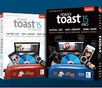Disponibili Toast 15 Titanium e Toast 15 Pro per Mac
