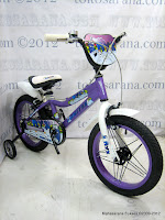3 Sepeda Anak United NYX Rangka Aloi 16 Inci
