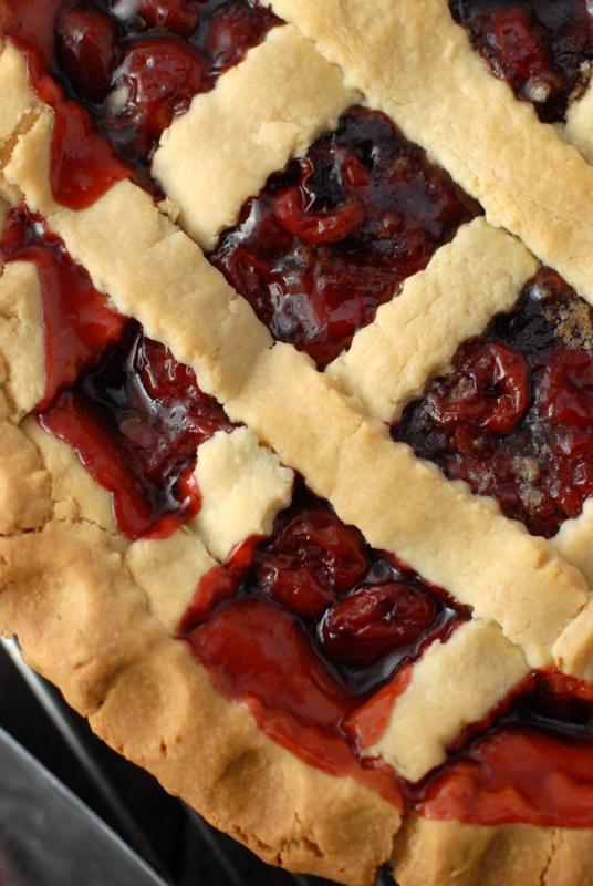 Presidents Birthday Cherry Pie