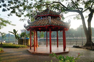 Chinese Gazebo, Waterfront Kuching, Sarawak, Malaysia
