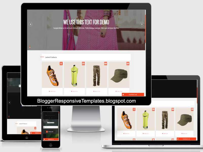 Downloads Beta Commerce Free Ecommerce Responsive Blogger Template