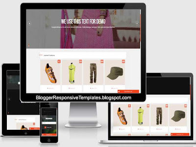 beta commerce free ecommerce responsive blogger template