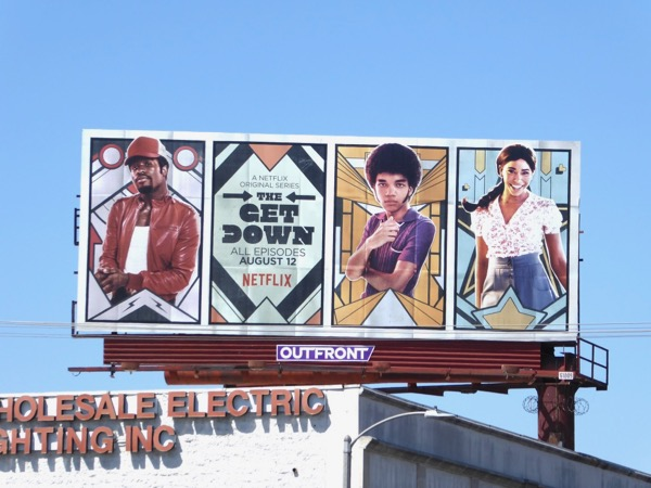 Get Down Netflix series billboard