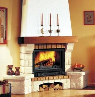 Blog de mbar muebles las chimeneas el embrujo de las - Chimeneas decorativas de pared ...