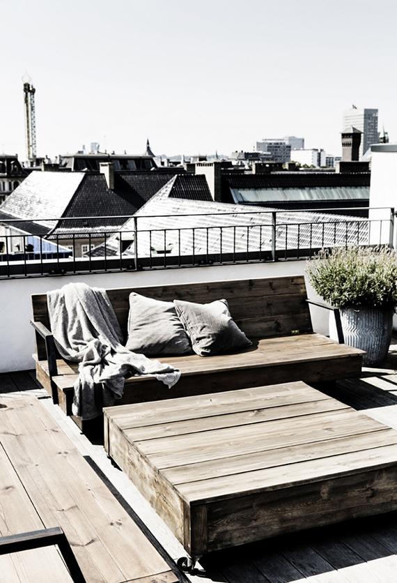 Old town Copenhagen apartment. Image by Line Klein for KBH