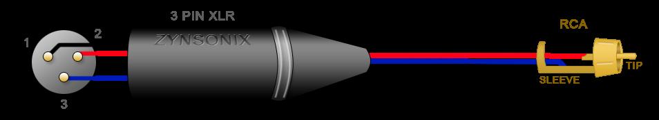 neutrik xlr wiring diagram steering wheel parts diy audio electronics from zynsonix.com: balanced to rca cable