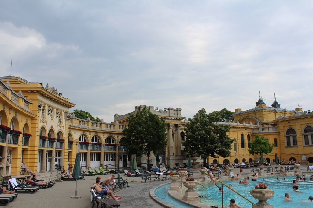 Szechenyi Thermal Baths Spa in Budapest