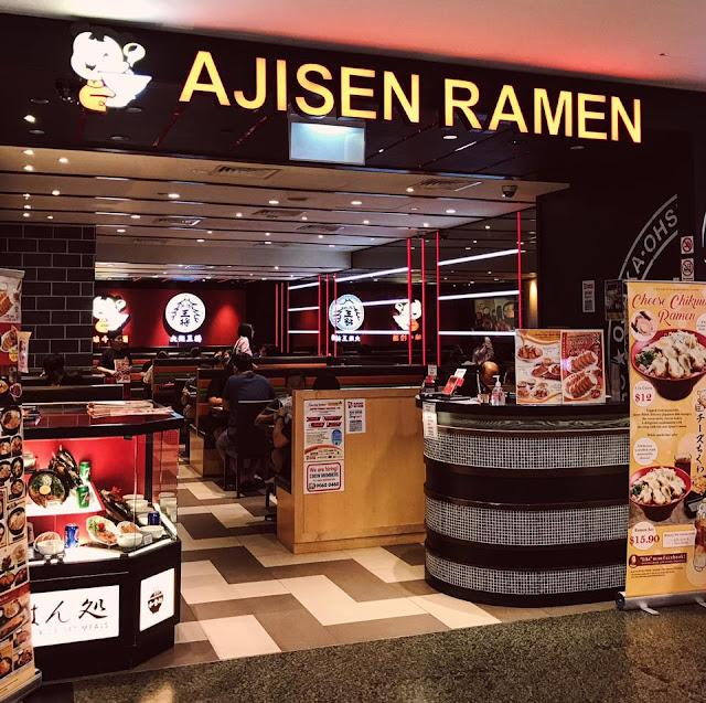 Ajisen Ramen Singapore