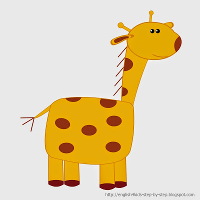 giraffe clip art for teachers