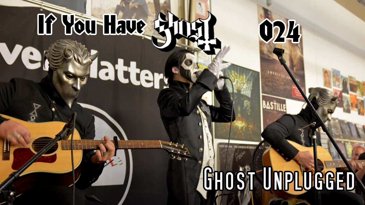ghost unholy/unplugged tour 2015