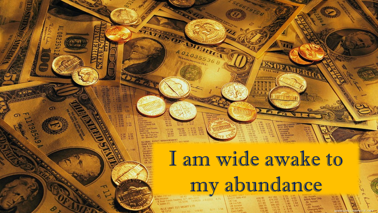 Meaningful Quotes Wallpaper Money Affirmations Everyday Affirmations