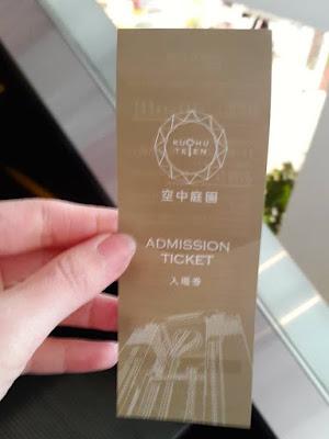 Admission Ticket for Floating Garden Observatory at Umeda Sky Building