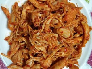 resep ayam suwir sederhana