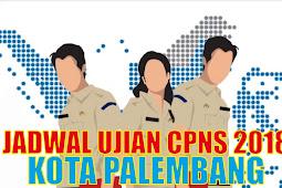 Jadwal Ujian CPNS 2018 Kota Palembang PDF