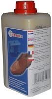 Solutie pentru lustruit pantofii. Culoare neutra, pentru lustruire pantofilor pentru aparaturile de lustruit pantofi  1.00 Li