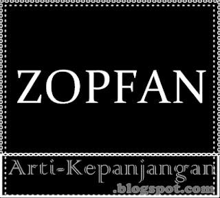 Arti Singkatan ZOPFAN - Zone of Peace, Freedom, and Neutrality
