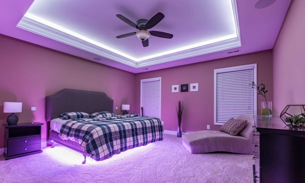 LED Interior Bedroom Lighting Ideas - 1 Decorate